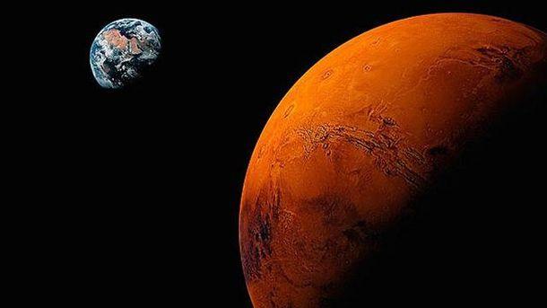 На Марсе нашли