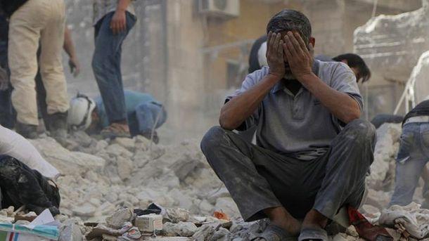 Химическая атака в Сирии (Архивное фото)