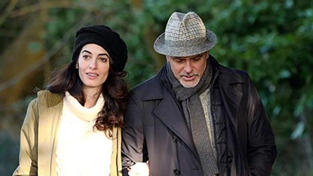 Джордж та Амаль Клуні показали своїх дітей