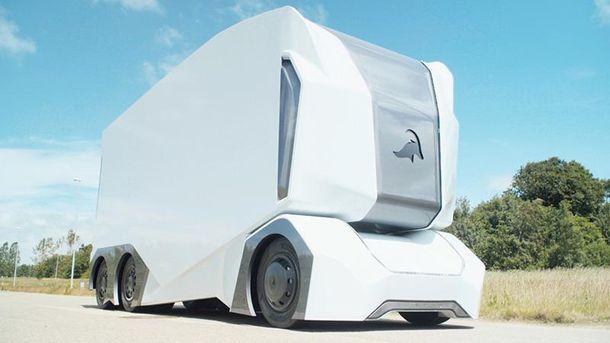 УШвеції створили безпілотну вантажівку, яка може перевозити до20 тонн вантажу