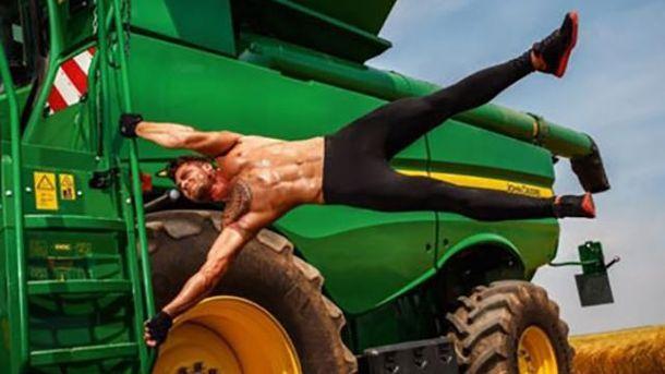 Австрийские фермеры снялись в горячей фотосессии