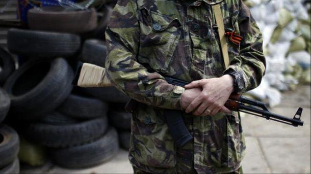 Затримання інформатора бойовиків (Ілюстрація)