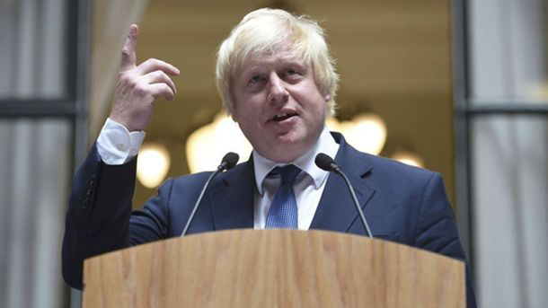 Глава британского МИД Борис Джонсон