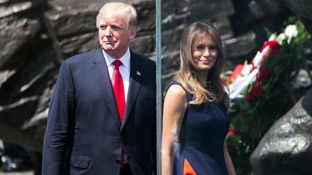 Трамп навідається до тещі у Словенію