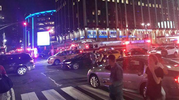 Авария в Нью-Йорке. Фото с места события