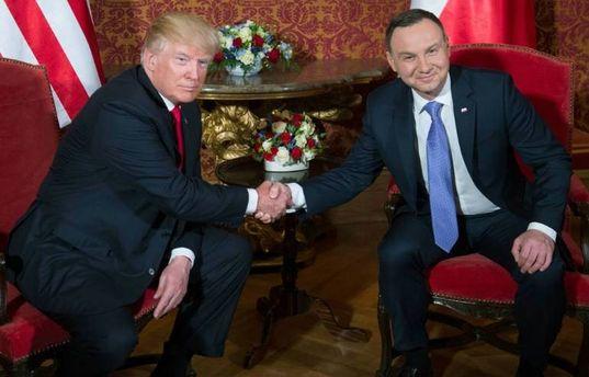 Відбувся візит Дональда Трампа до Польщі