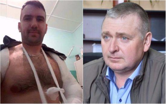 Насессии Николаевского райсовета подрались народные избранники, одному сломали руку