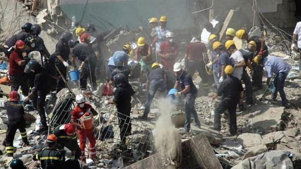 Будинок завалився в Італії