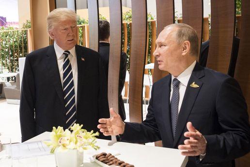 Встреча Трампа с Путиным: о чем говорили главы США и России