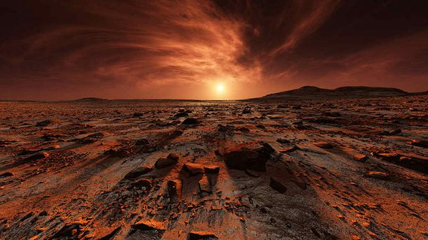 Бактерії гинуть на Марсі за лічені хвилини