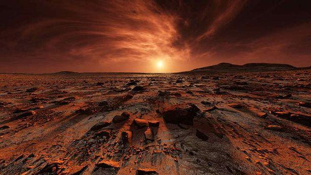 Бактерии погибают на Марсе за считанные минуты