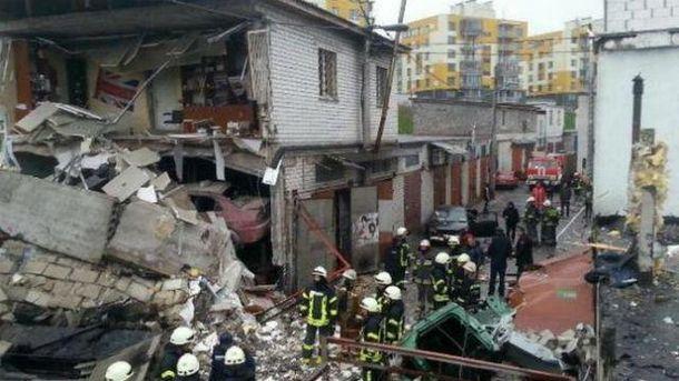 Вибух будинку у Києві