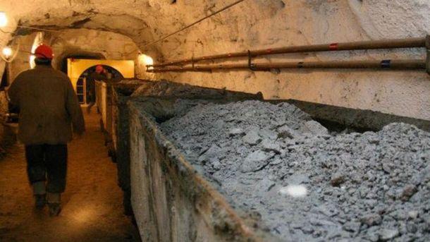 Несчастный случай произошел на шахте в Донецкой области