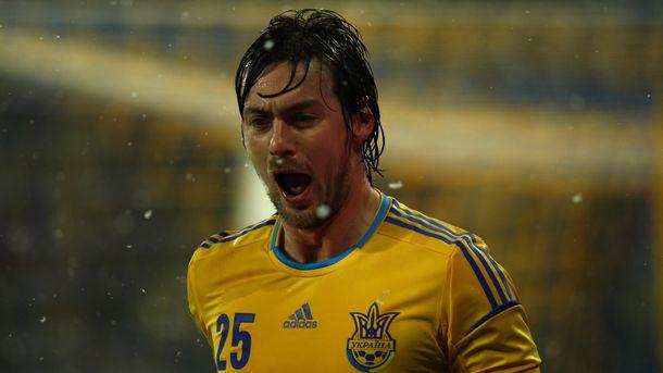 Артем Милевский в составе сборной Украины