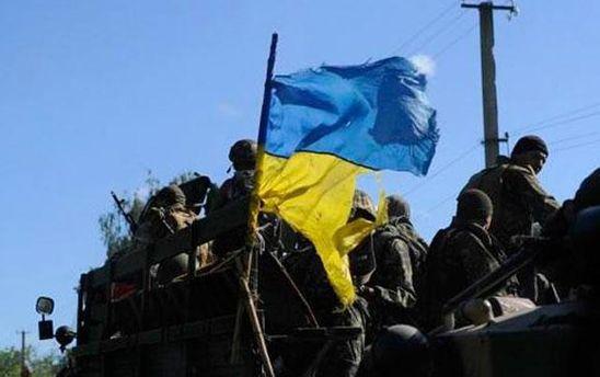 Война на Донбассе: среди бойцов АТО есть раненые