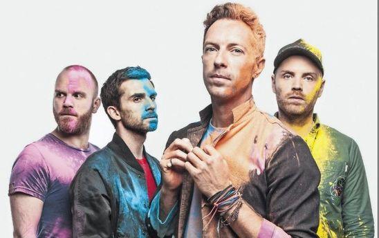 Coldplay випустили нову пісню