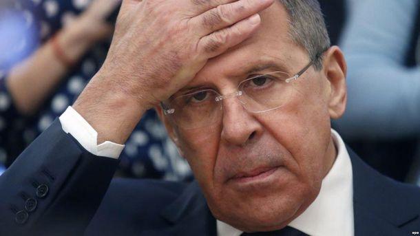 Кремлевские СМИ вырезали из видео фразу Лаврова о российских военных на Донбассе