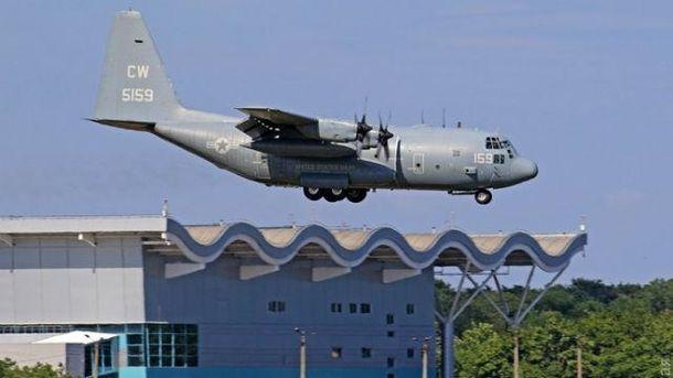 В Одесі приземлилась авіація НАТО
