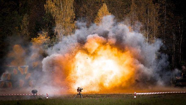 Підрив протитанкової гранати (ілюстрація)