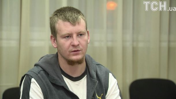 Затриманий на Донбасі  Віктор Агєєв
