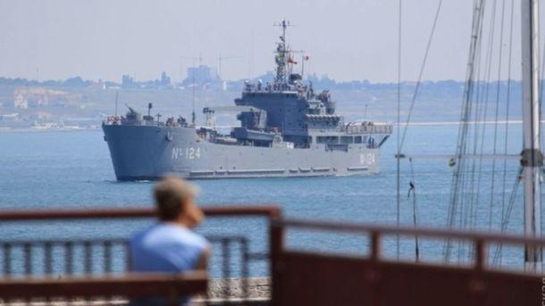 Корабли НАТО в порту Одессы