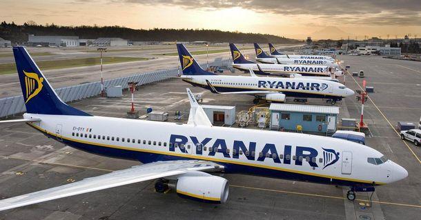 Ryanair может объявить об отмене полетов в Украину