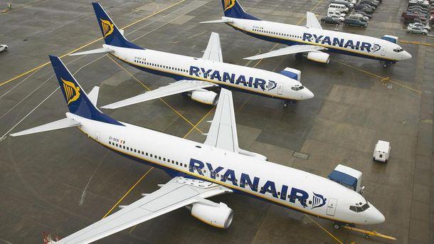 Ryanair призупинив продаж квитків в Україну