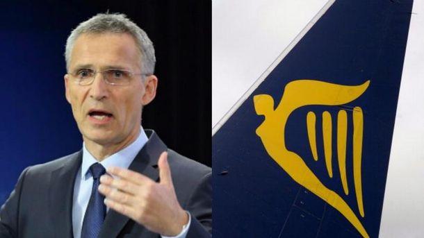 Головні новини 10 липня: Столтенберг в Україні, а Ryanair йде
