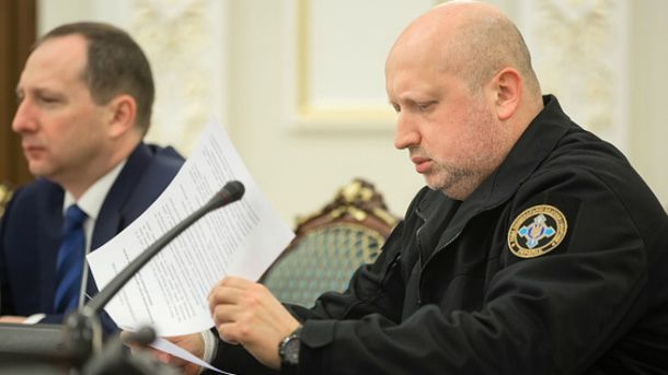 Секретар РНБО Олекснадр Турчинов
