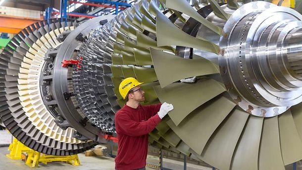 Газовые турбины Siemens (Иллюстрация)