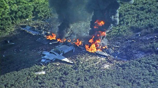 УСША розбився військовий літак: загинуло 16 осіб