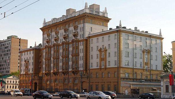 Посольство США у Росії