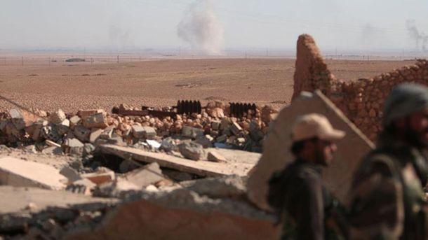 Сирійські повстанці (Ілюстрація)