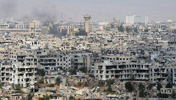 Зруйнована війною Сирія