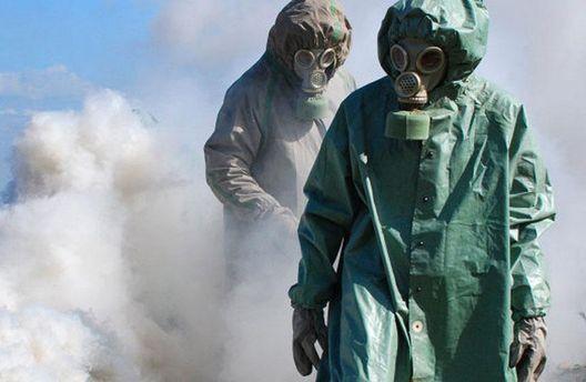 Наявність доказів застосування хімічної зброї сирійським режимом