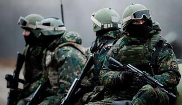 Российские военные из ГРУ прибыли на Донбасс
