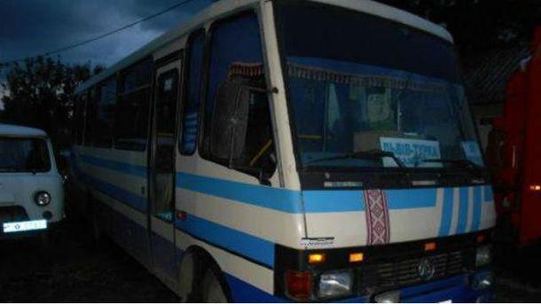 Водій і четверо пасажирів отримали опіки вавтобусі уЛьвівській області