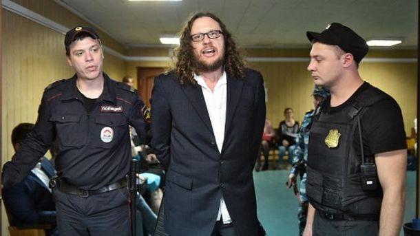 Сергея Полонского освободили прямо в зале суда