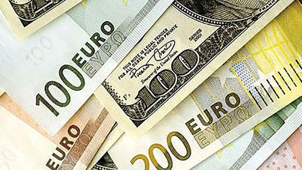Курсы валют евро доллар