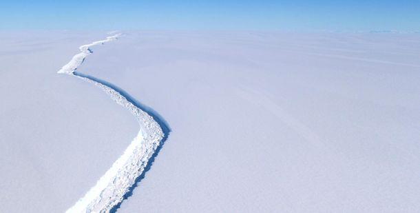 Раскол ледника Larsen C