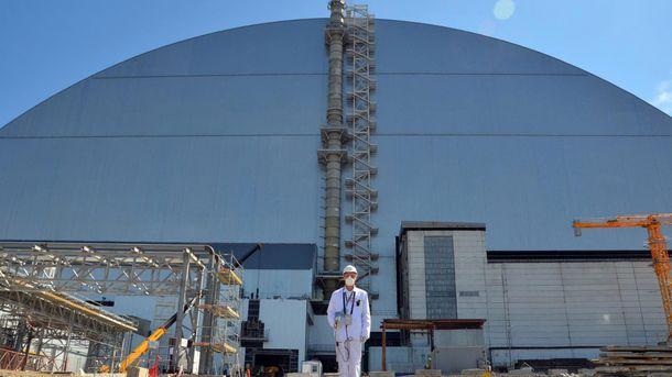 У Чорнобилі показали, що сховано під саркофагом