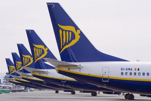 Україна зникла з переліку країн на сайті Ryanair