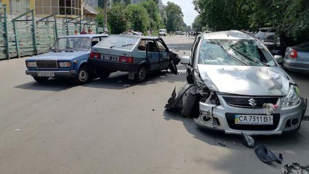 Бывший мэр Умани совершила несколько громких ДТП в Черкассах