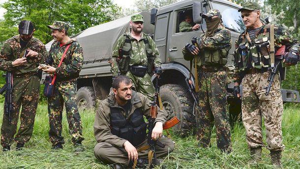 Террористы Донбасса