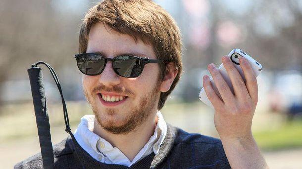 Microsoft выпустила приложение для слепых