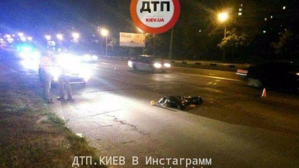 Авария с пешеходом в Киеве