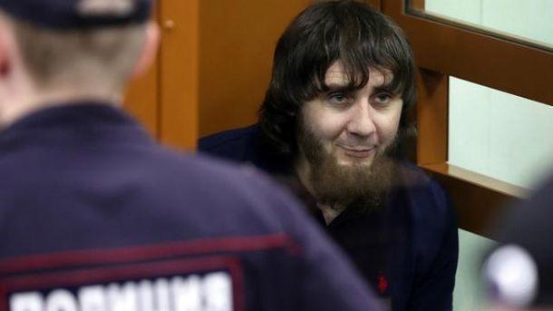 Заура Дадаева приговорили к 20 годам колонии строгого режима