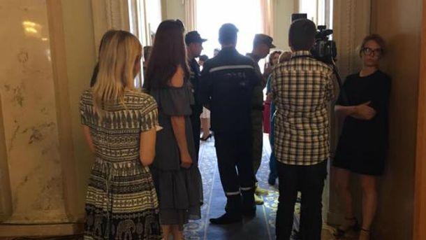 Журналісти повідомляють, що Ольга Богомолець знепритомніла в туалеті Верховної Ради