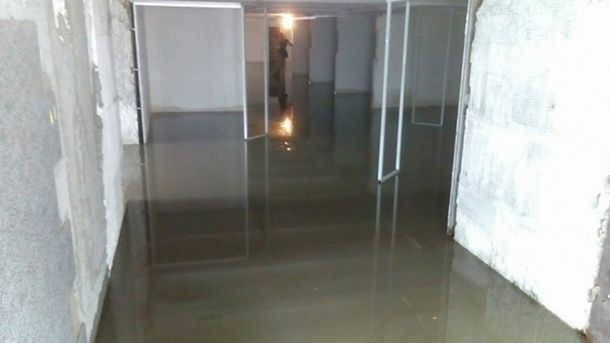 Затопленный переход в Одессе
