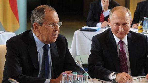 Лавров попросил EC недавить на Украинское государство
